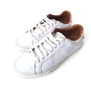 Lacoste trainers leather sneakers sz 7